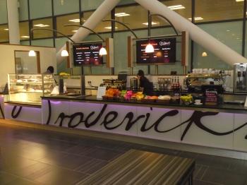 Broderick Sign - Restaurants